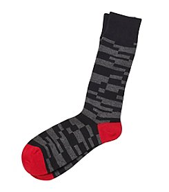 Kenneth Roberts Platinum® Men's Geo Pattern Casual Socks