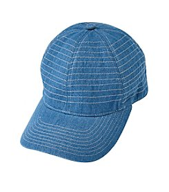 August Hats Topstitch Baseball Cap