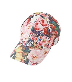 August Hats Floral Baseball Cap