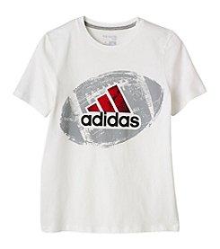 adidas® Boys' 8-20 Field Logo Tee