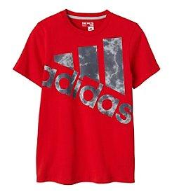 adidas® Boys' 8-20 Smoke Screen Logo Tee