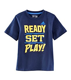 adidas® Boys' 2T-7 Ready Set Tee