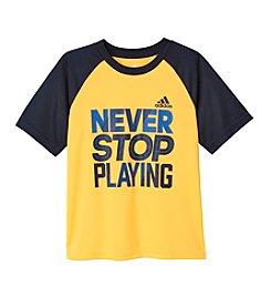 adidas® Boys' 2T-20 Never Stop Tee