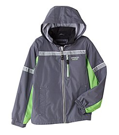 London Fog® Boys' 4-16 Tricot Lined Colorblock Jacket