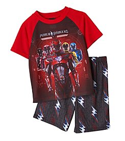 Nickelodeon® Boys' 4-10 Power Rangers® 2-Piece Pajama Set