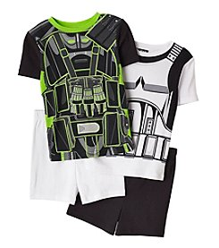 Star Wars™ Boys' 4-10 Rogue Uniform 4-Piece Pajama Set