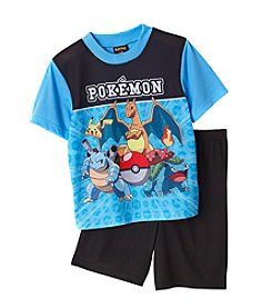 Pokemo® Boys' 4-10 Pokeman 2-Piece Pajama Set