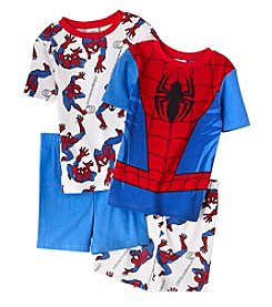 Spider-Man® Boys' 4-10 Spiderman 4-Piece Pajama Set