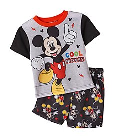 Mickey Mouse® Boys' 4-10 Mickey Cool Moves 2-Piece Shorts Set