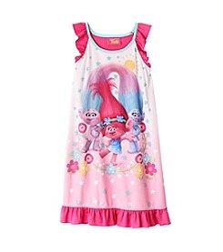 DreamWorks Trolls™ Girls' 4-10 Troll Hugs Sleepwear Gown