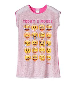 Nickelodeon® Girls' 4-10 Emoji Moods Sleep Gown