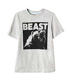 Seven Oaks Boys' 8-20 Short sleeve Beast Tee with UV Color Changing Graphics