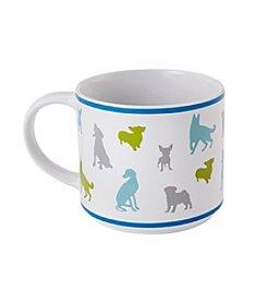 John Bartlett Pet Dog Silhouette Mug