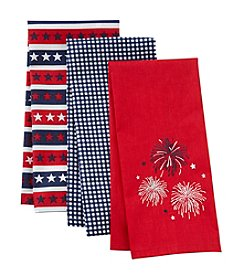 Living Quarters Three Pack Kitchen Towels