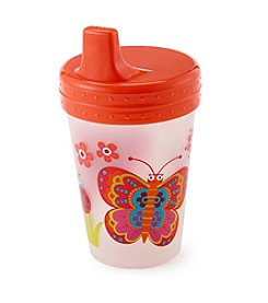 LivingQuarters Butterfly Sippy Cup
