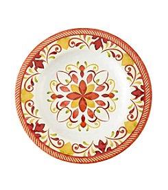 LivingQuarters Warm Medallion Salad Plate