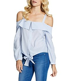Jessica Simpson Off-Shoulder Peasant Top