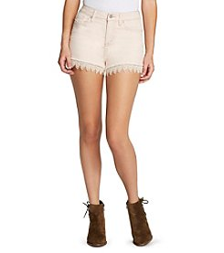 Jessica Simpson Lace Trim Festival Shorts