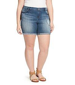 Jessica Simpson Plus Size Forever Midi Shorts
