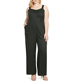 Jessica Simpson Plus Size Soft Overall Jumpsuit