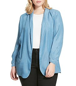 Jessica Simpson Plus Size Soft Blazer Jacket
