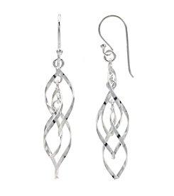 Willow Twisting Drop Earrings