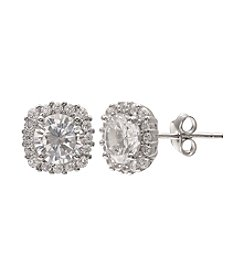 Willow Cubic Zirconia Stud Earrings