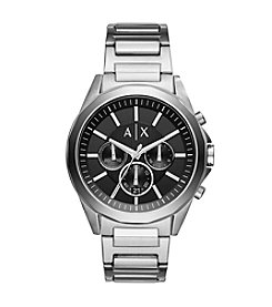 A|X Armani Men's Chronograph Stainless Steel Bracelet Watch