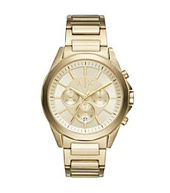 A|X Armani Exchange Men's Chronograph Goldtone Stainless Steel Bracelet Watch