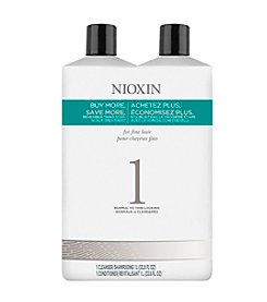Nioxin® System 1 Shampoo And Conditioner Set