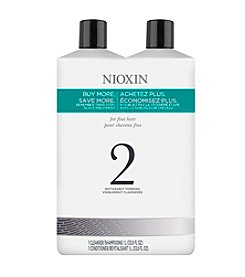 Nioxin® System 2 Shampoo And Conditioner Set