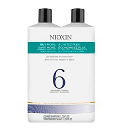 Nioxin® System 6 Shampoo And Conditioner Set