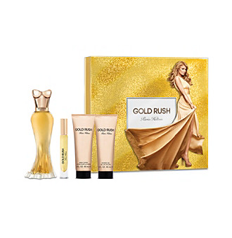 Gold Rush by Paris Hilton 4 pc set for Women *NEW IN BOX