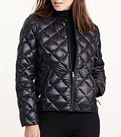 Lauren Ralph Lauren® Diamond Quilted Packable Down Jacket