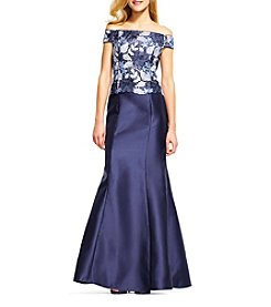Adrianna Papell® Off-Shoulder Bodice Dress