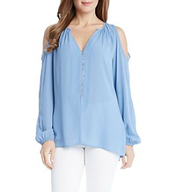 Karen Kane® Cold Shoulder Blouse
