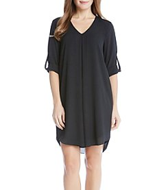 Karen Kane® Roll Sleeve Dress
