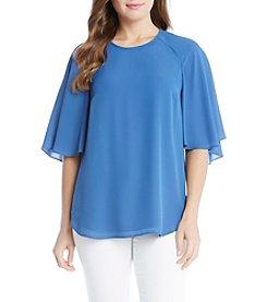 Karen Kane® Cape Sleeve Blouse