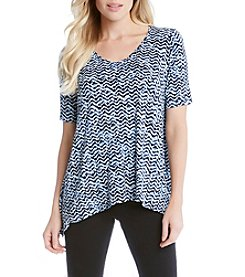 Karen Kane® Printed Swing Top