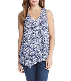 Karen Kane® Floral Layered Top