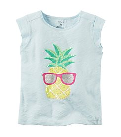 Carter's® Girls' 2T-8 Pineapple Tee