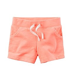 Carter's® Girls' 2T-8 Terry Shorts