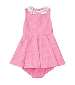 Ralph Lauren® Baby Girls' Poplin Gingham Dress