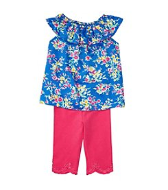 Ralph Lauren® Baby Girls' Floral Top And Leggings Set