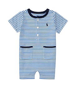 Ralph Lauren® Baby Boys Striped One Piece Shortalls