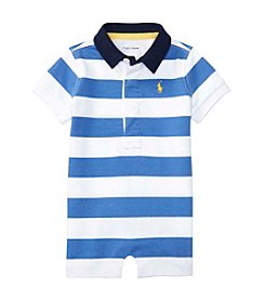 Ralph Lauren® Baby Boys Rugby One Piece Shortalls