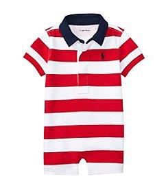Ralph Lauren® Baby Boys Rugby One Piece Shortalls