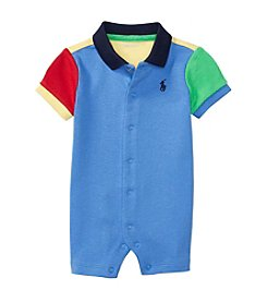 Ralph Lauren® Baby Boys Come Go One Piece Shortalls