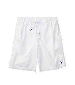 Polo Ralph Lauren® Boys' 8-20 Poplin Pull On Shorts