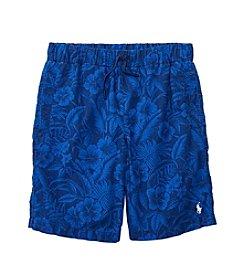 Polo Ralph Lauren Boys' 8-20 Poplin Pull On Shorts